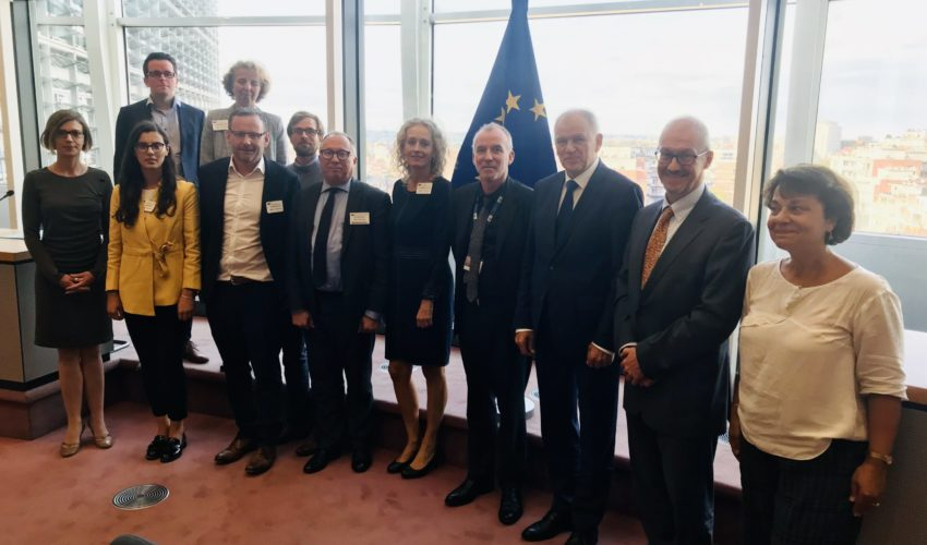 CHAIN meeting with Commissioner Andrukaitis, September 2019