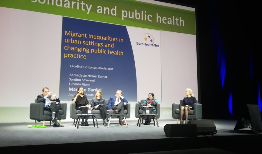EuroHealthNet Plenary Session at the European Public Health Conference
