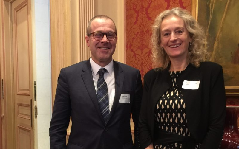 Caroline Costongs, EuroHealthNet Director and Hans Kluge, WHO Regional Director for Europe